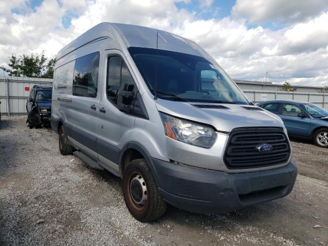 Salvage cars for sale from Copart Walton, KY: 2015 Ford Transit T