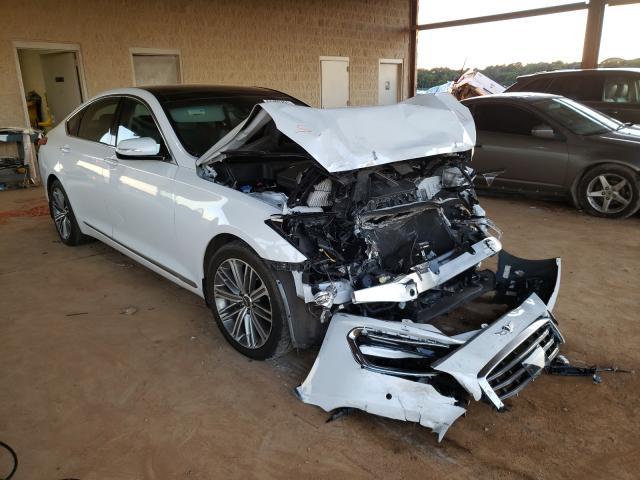 Genesis salvage cars for sale: 2018 Genesis G80 Base