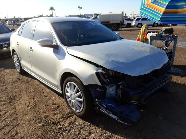 Salvage cars for sale from Copart Phoenix, AZ: 2012 Volkswagen Jetta SE