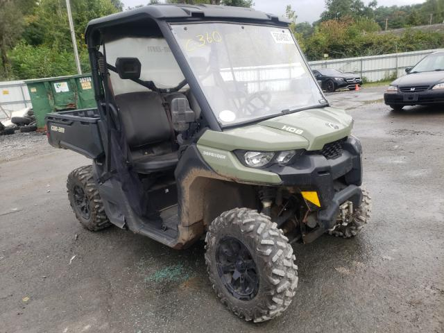 Salvage motorcycles for sale at Albany, NY auction: 2019 Can-Am Defender H