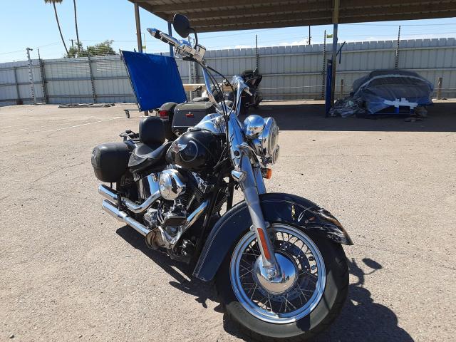 Salvage cars for sale from Copart Phoenix, AZ: 2006 Harley-Davidson Flstni
