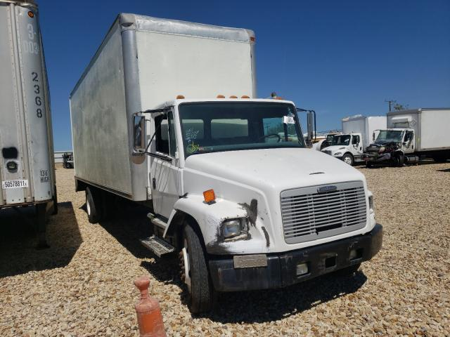 Salvage cars for sale from Copart Grand Prairie, TX: 2003 Freightliner Medium CON
