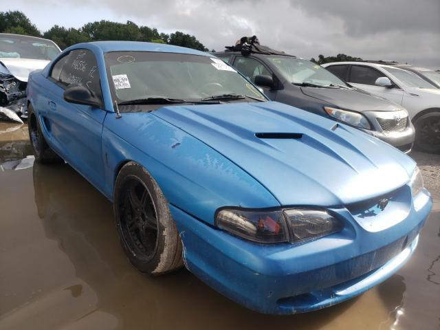 Ford salvage cars for sale: 1997 Ford Mustang GT