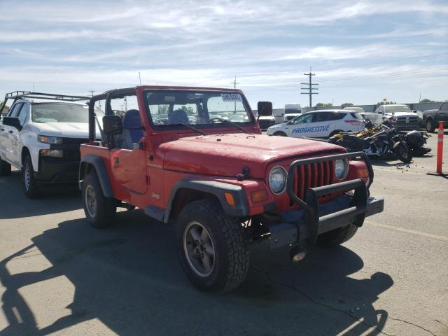 Jeep salvage cars for sale: 1998 Jeep Wrangler