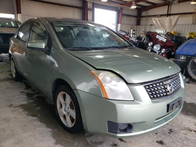 Salvage cars for sale from Copart Chatham, VA: 2007 Nissan Sentra