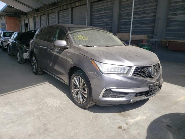 Upcoming salvage cars for sale at auction: 2020 Acura MDX Techno