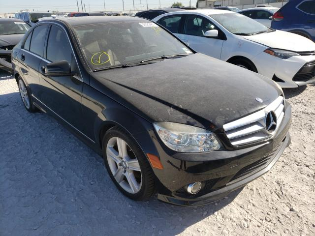 Salvage cars for sale from Copart Haslet, TX: 2010 Mercedes-Benz C300