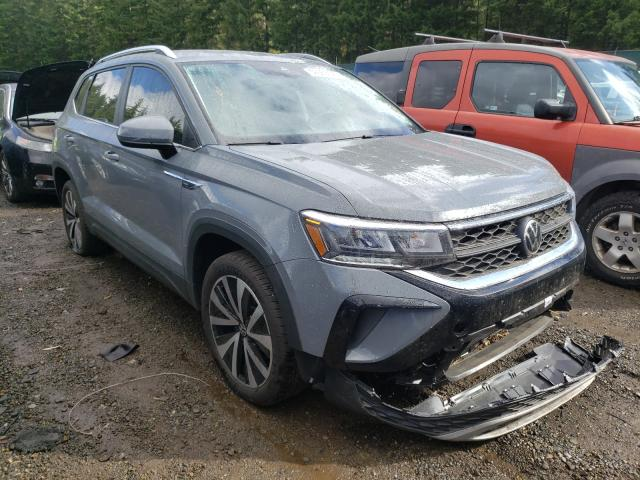 Salvage cars for sale from Copart Graham, WA: 2022 Volkswagen Taos SE