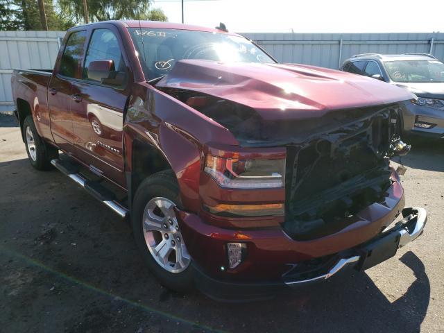 Salvage trucks for sale at Ham Lake, MN auction: 2016 Chevrolet Silverado