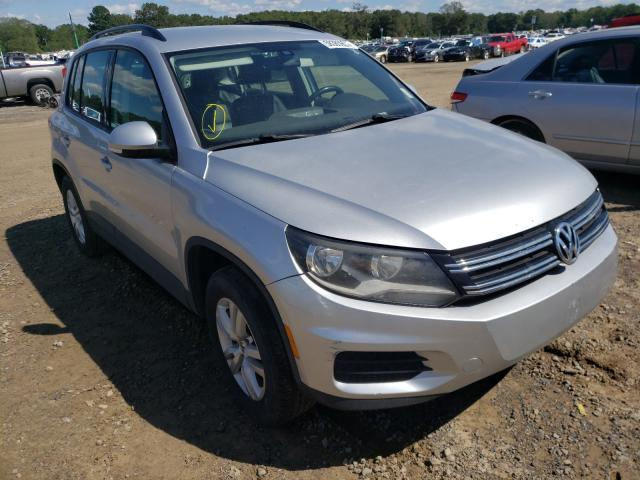Salvage cars for sale at Conway, AR auction: 2017 Volkswagen Tiguan S