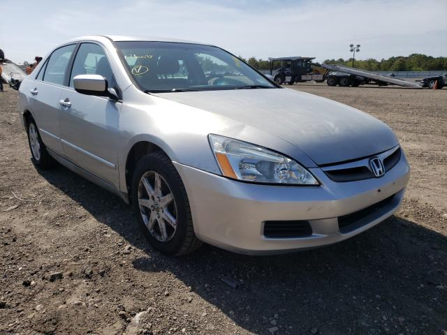 Salvage cars for sale from Copart Brookhaven, NY: 2006 Honda Accord LX