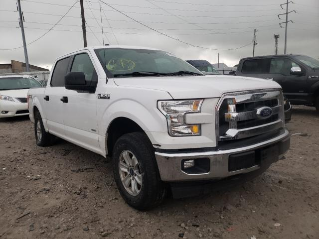 Salvage cars for sale from Copart Columbus, OH: 2017 Ford F150 Super