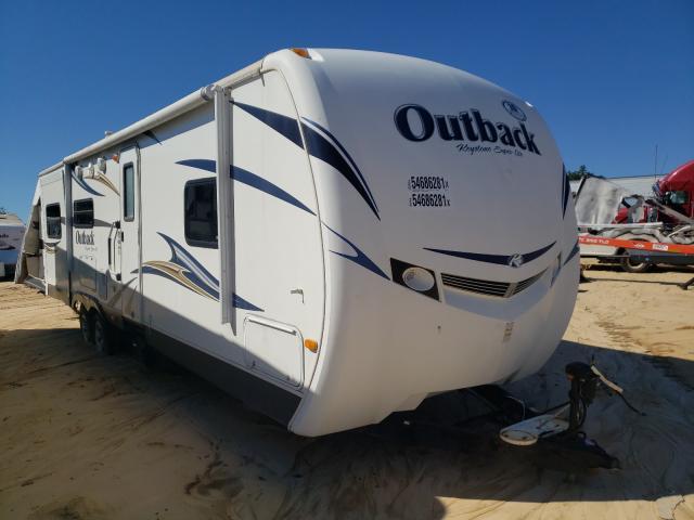 Keystone Outback salvage cars for sale: 2012 Keystone Outback