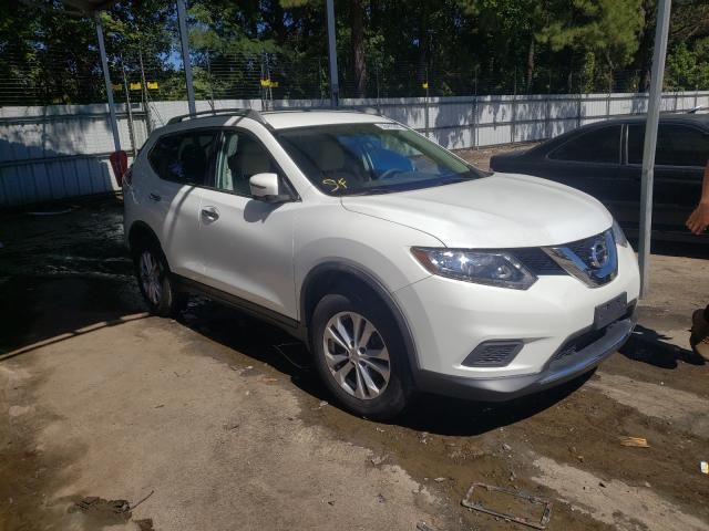 Vehiculos salvage en venta de Copart Austell, GA: 2016 Nissan Rogue S