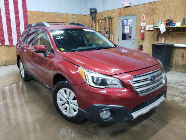 Salvage cars for sale from Copart Kincheloe, MI: 2015 Subaru Outback 2
