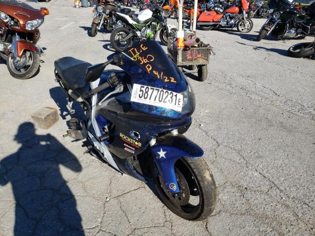 Salvage motorcycles for sale at Rogersville, MO auction: 2006 Yamaha YZF600 R