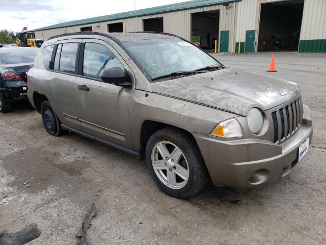 Salvage cars for sale from Copart Angola, NY: 2008 Jeep Compass SP