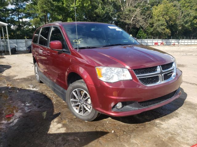 Vehiculos salvage en venta de Copart Austell, GA: 2017 Dodge Grand Caravan