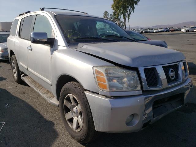 Vehiculos salvage en venta de Copart Martinez, CA: 2004 Nissan Armada SE