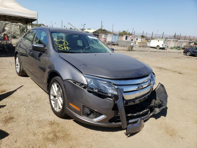 Salvage cars for sale from Copart San Martin, CA: 2012 Ford Fusion SEL