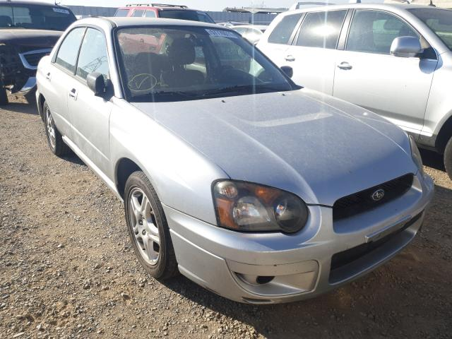 Salvage cars for sale from Copart Anderson, CA: 2005 Subaru Impreza RS