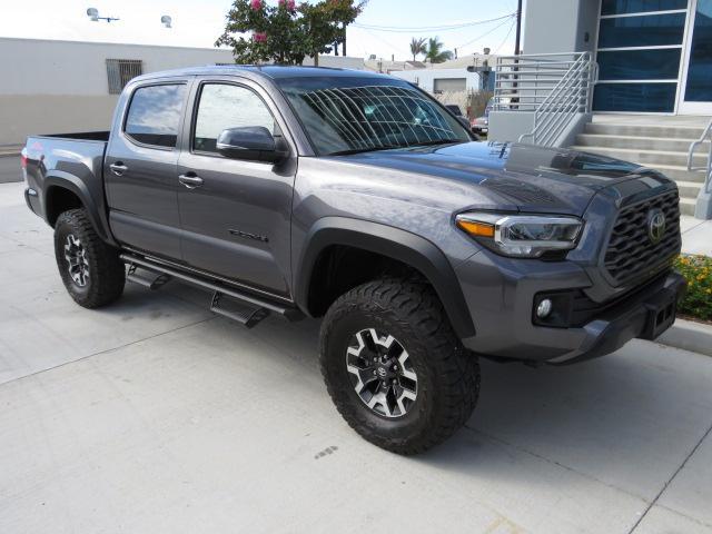 Toyota salvage cars for sale: 2020 Toyota Tacoma DOU