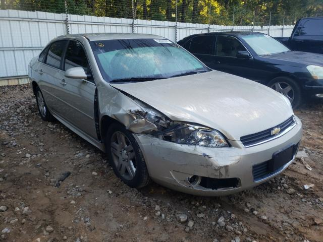 Salvage cars for sale from Copart Austell, GA: 2011 Chevrolet Impala LT