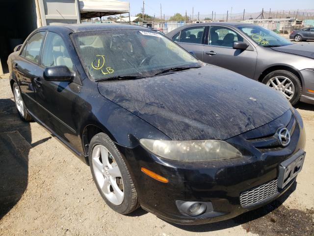 Salvage cars for sale from Copart San Martin, CA: 2007 Mazda 6 I