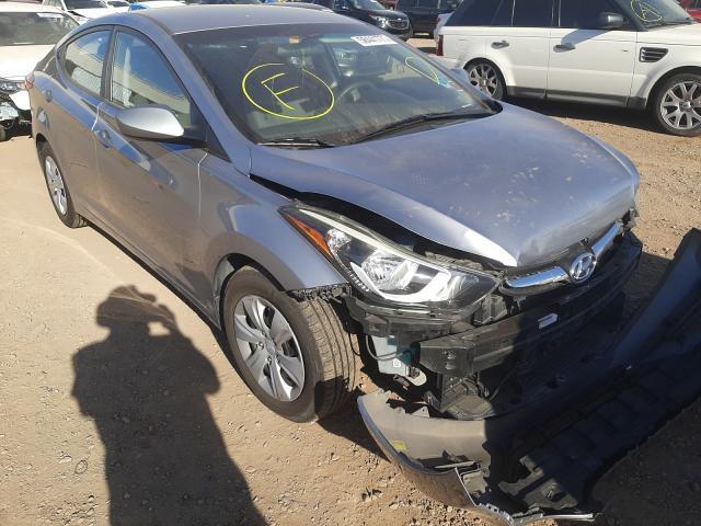 Salvage cars for sale from Copart Phoenix, AZ: 2016 Hyundai Elantra SE