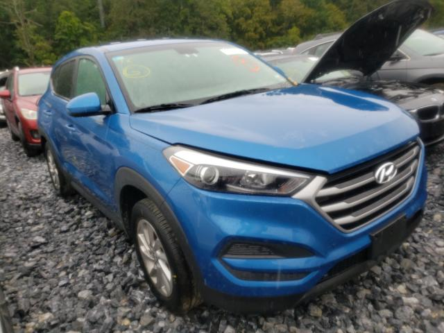 Hyundai Tucson salvage cars for sale: 2018 Hyundai Tucson