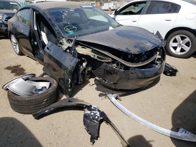 Salvage cars for sale from Copart San Martin, CA: 2021 Tesla Model 3