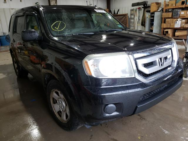 Salvage cars for sale from Copart Duryea, PA: 2011 Honda Pilot LX