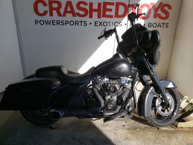 Salvage cars for sale from Copart Kansas City, KS: 2017 Harley-Davidson Flhxs Street