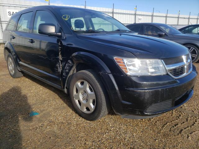 Salvage cars for sale from Copart Nisku, AB: 2010 Dodge Journey SE