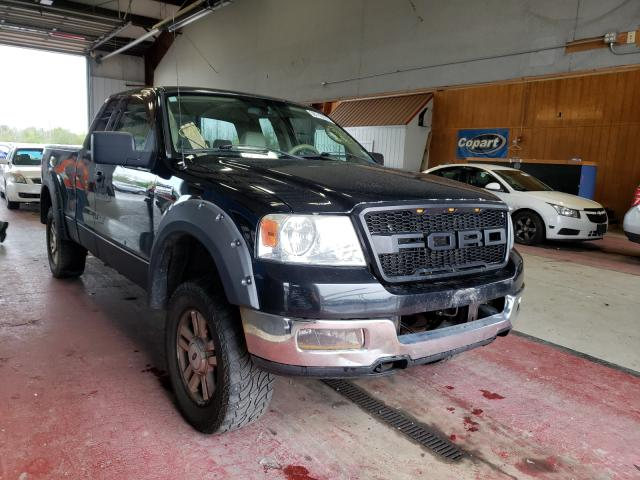 Salvage cars for sale from Copart Angola, NY: 2004 Ford F150 Super