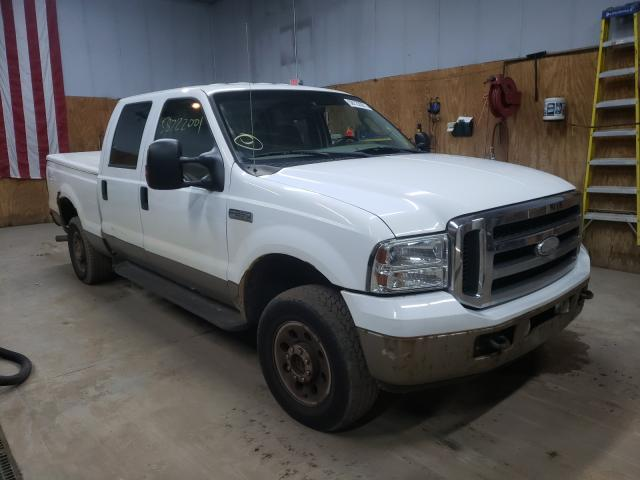 Salvage cars for sale from Copart Kincheloe, MI: 2005 Ford F250 Super