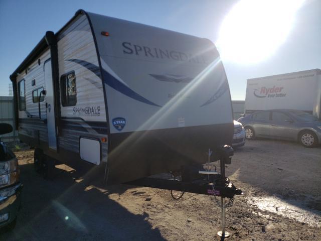 Keystone salvage cars for sale: 2021 Keystone Springdale