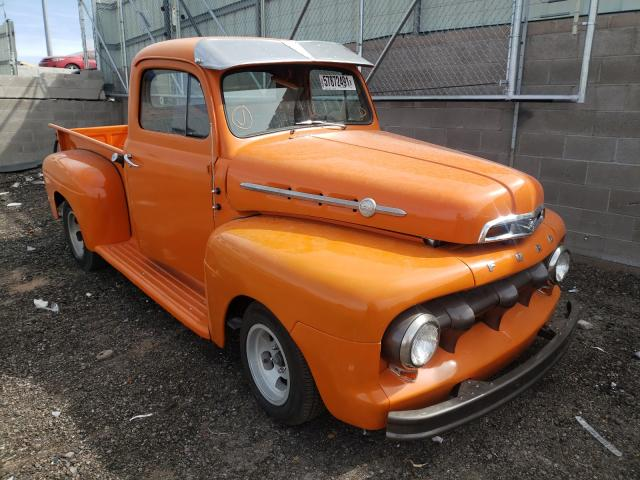 Upcoming salvage cars for sale at auction: 1952 Ford 1/2 TON