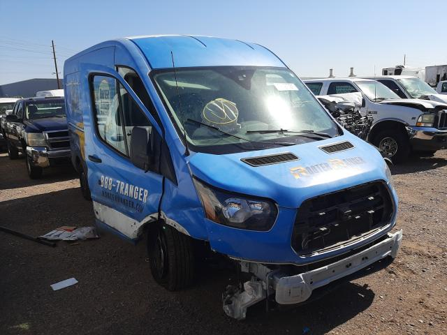 Salvage cars for sale from Copart Phoenix, AZ: 2019 Ford Transit T
