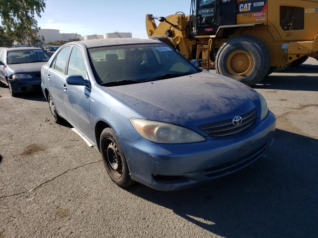 Vehiculos salvage en venta de Copart Martinez, CA: 2002 Toyota Camry LE