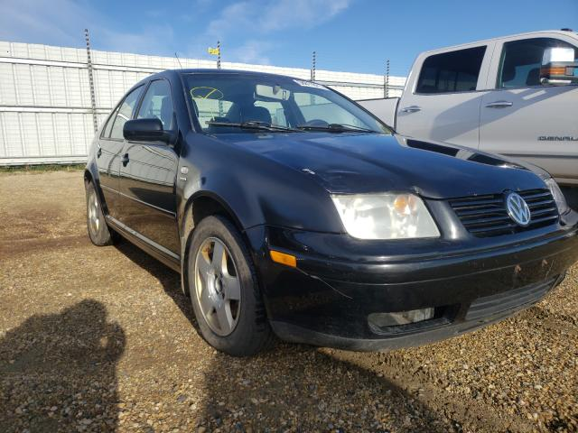 Salvage cars for sale from Copart Nisku, AB: 2002 Volkswagen Jetta GLS