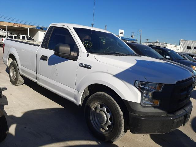 Salvage cars for sale from Copart Grand Prairie, TX: 2016 Ford F150