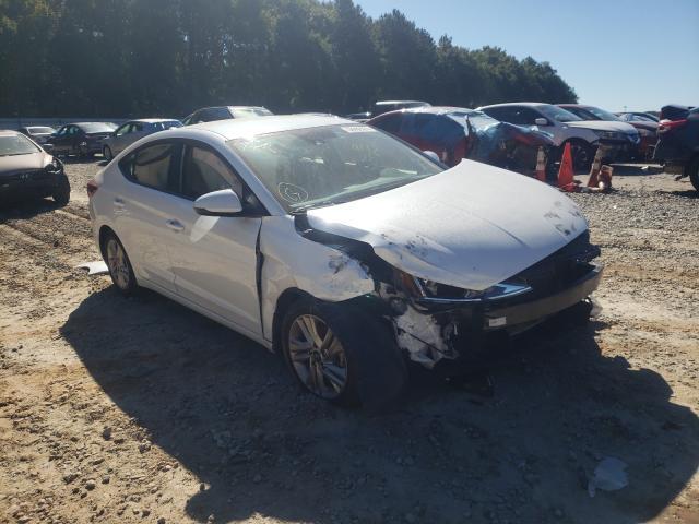 Hyundai salvage cars for sale: 2020 Hyundai Elantra SE