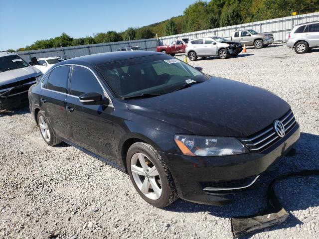 Salvage cars for sale at Prairie Grove, AR auction: 2013 Volkswagen Passat SE