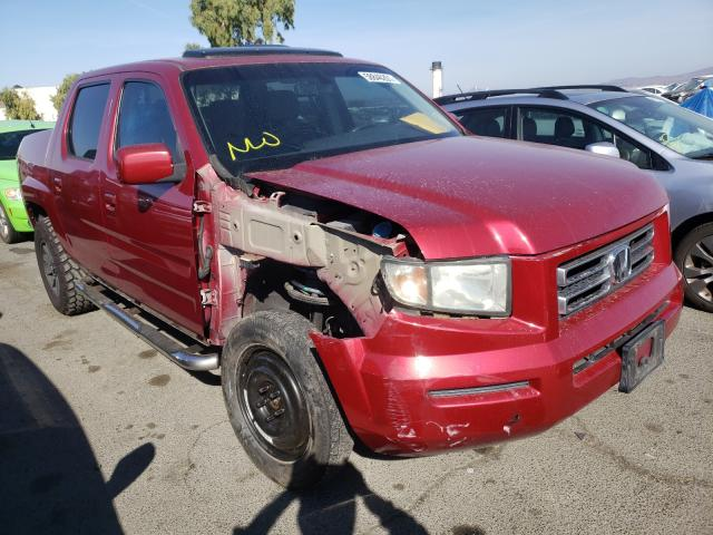 Salvage cars for sale from Copart Martinez, CA: 2006 Honda Ridgeline