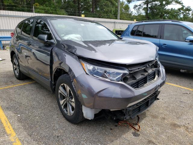 Honda salvage cars for sale: 2018 Honda CR-V LX