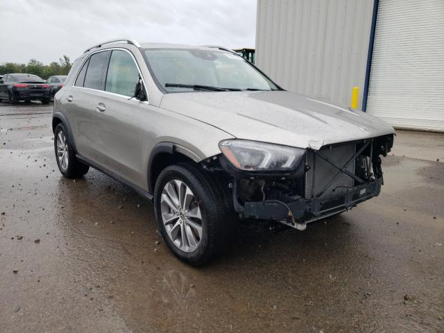 Salvage cars for sale from Copart Central Square, NY: 2021 Mercedes-Benz GLE 450 4M