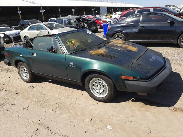 Salvage cars for sale from Copart Phoenix, AZ: 1980 Triumph TR8