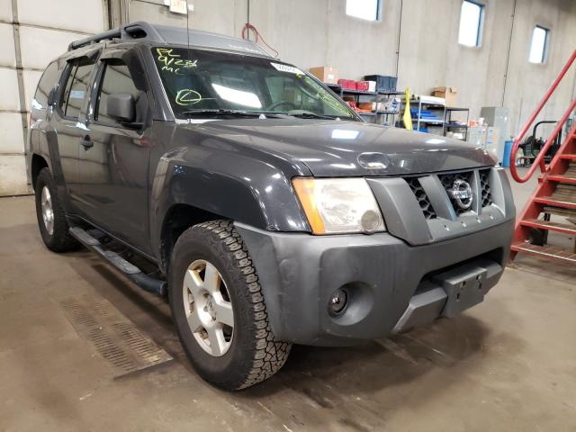 Salvage cars for sale from Copart Blaine, MN: 2007 Nissan Xterra OFF