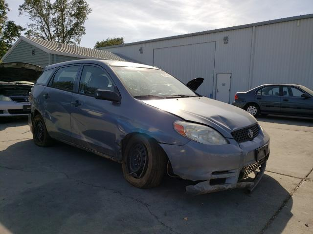 Salvage cars for sale from Copart Sacramento, CA: 2003 Toyota Corolla MA